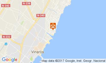 Mapa Vinaroz Villa 112681