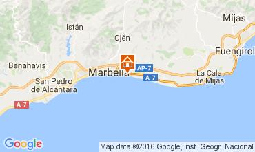 Mapa Marbella Apartamento 100764