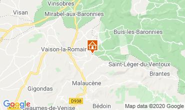 Mapa Vaison la Romaine Villa 111380