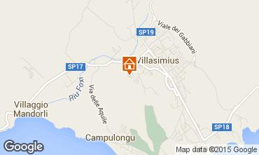 Mapa Villasimius Apartamento 60425