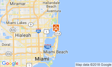 Mapa Miami Beach Villa 115572