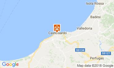 Mapa Castelsardo Apartamento 115440