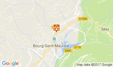 Mapa Bourg saint Maurice Apartamento 112634