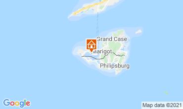 Mapa Marigot Apartamento 114553