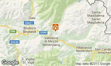 Mapa Kronplatz  - Plan de Corones Apartamento 26535