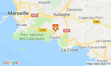 Mapa Cassis Villa 119721