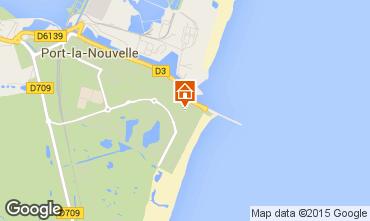 Mapa Port La Nouvelle Apartamento 67630