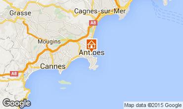 Mapa Antibes Estudio 98215