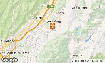 Mapa Les Sept Laux Estudio 90746