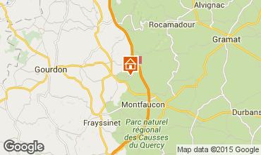 Mapa Rocamadour Casa rural 92399