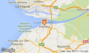 Mapa Honfleur Apartamento 7650