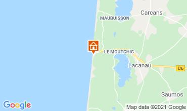 Mapa Lacanau Apartamento 35391