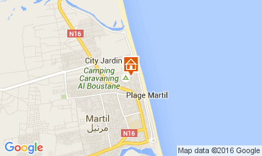 Mapa Martil Apartamento 59209