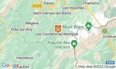 Mapa Les Contamines Montjoie Chalet 32551