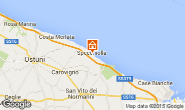 Mapa Ostuni Villa 95672
