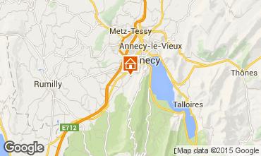 Mapa Annecy Apartamento 35564
