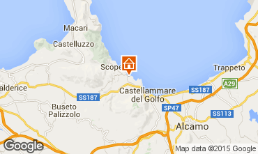 Mapa Scopello Apartamento 76816