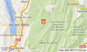 Mapa Les Aillons Estudio 91336