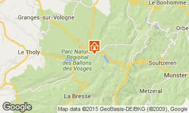 Mapa Gérardmer Chalet 35155