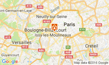 Mapa PARÍS Apartamento 106550