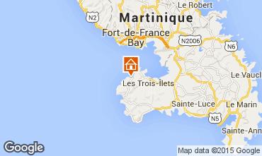 Mapa Trois Ilets Apartamento 75673