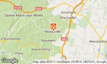 Mapa Ribeauvillé Apartamento 70208