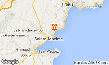Mapa Sainte Maxime Villa 70153