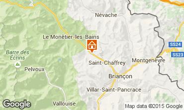 Mapa Serre Chevalier Chalet 2917