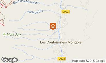 Mapa Les Contamines Montjoie Chalet 50322