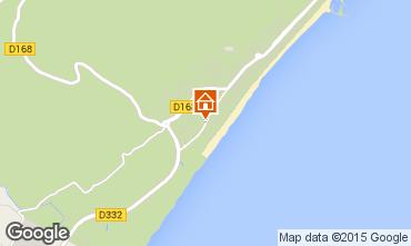 Mapa Narbonne plage Apartamento 97795