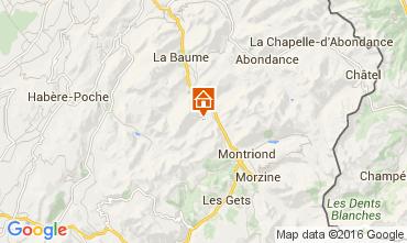 Mapa Saint Jean d'Aulps- La Grande Terche Apartamento 48428