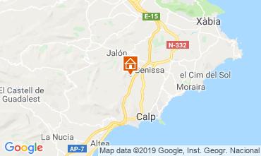 Mapa Benissa Casa 116425