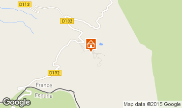Mapa Arette La Pierre Saint Martin Apartamento 96393