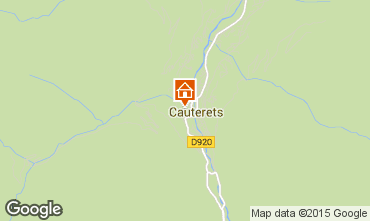Mapa Cauterets Apartamento 58565