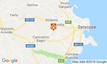Mapa Siracusa Villa 116919