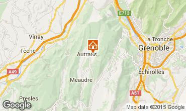 Mapa Autrans Casa rural 65665