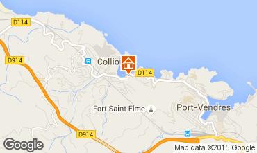 Mapa Collioure Apartamento 78947