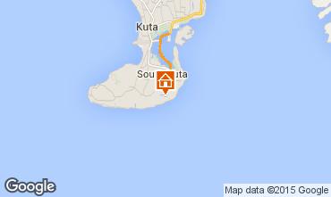 Mapa Nusa Dua Villa 98316