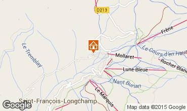 Mapa Saint François Longchamp Apartamento 68919