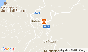 Mapa Badesi Apartamento 112512