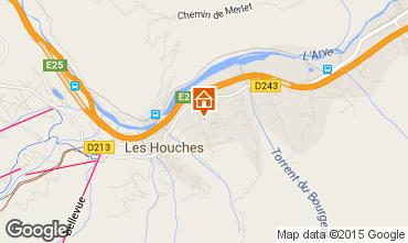 Mapa Chamonix Mont-Blanc Chalet 99033