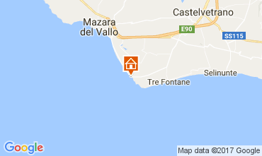 Mapa Tre Fontane Villa 107993