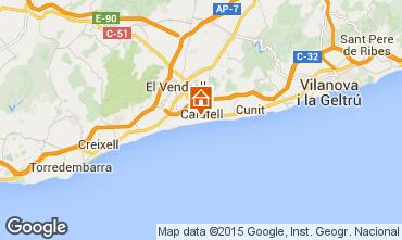 Mapa Calafell Apartamento 51755