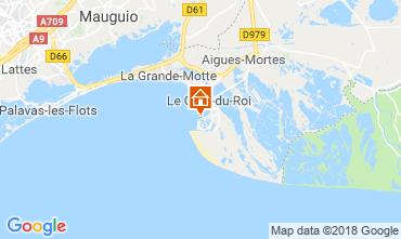 Mapa Le Grau du Roi Apartamento 81038
