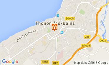 Mapa Thonon Les Bains Apartamento 104035