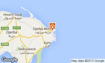 Mapa Djerba Apartamento 58841