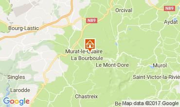Mapa La Bourboule Chalet 111687