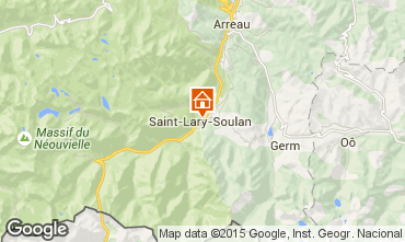 Mapa Saint Lary Soulan Estudio 66867