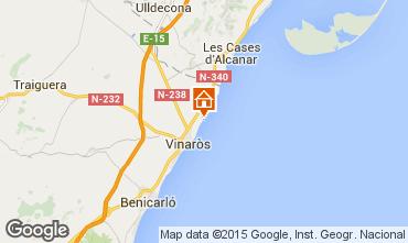 Mapa Vinaroz Apartamento 80636