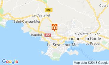 Mapa Ollioules Villa 117415